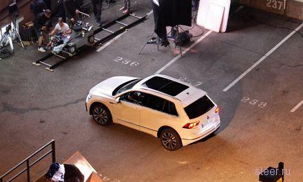 Новый Volkswagen Tiguan сфотографировали без камуфляжа