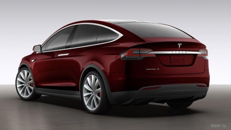 Tesla представила фото и цены нового кроссовера Model X