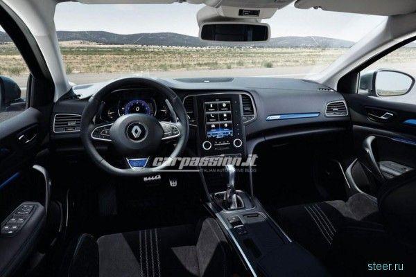 Новый Renault Megane : первые официальные фотографии