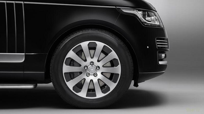 Представлен бронированный Range Rover