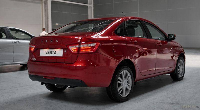 Lada Vesta взорвала Франкфурт