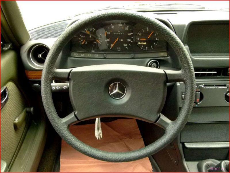 Законсервированный Mercedes w123