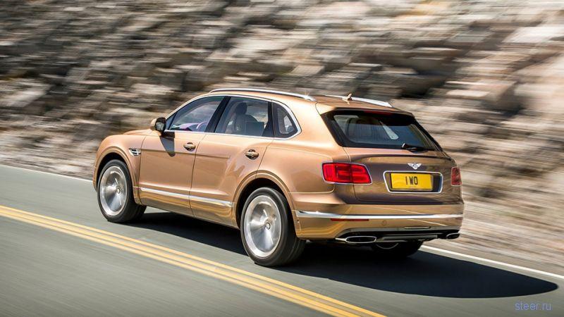 Серийный внедорожник Bentley Bentayga официально представлен