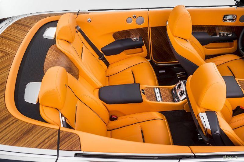 Dawn: новый кабриолет от Rolls-Royce