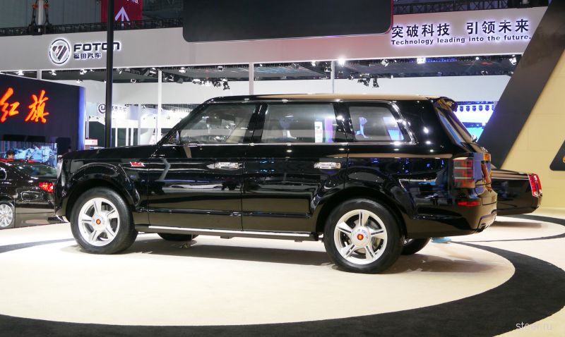 FAW LS5 : китайский конкурент Audi Q7