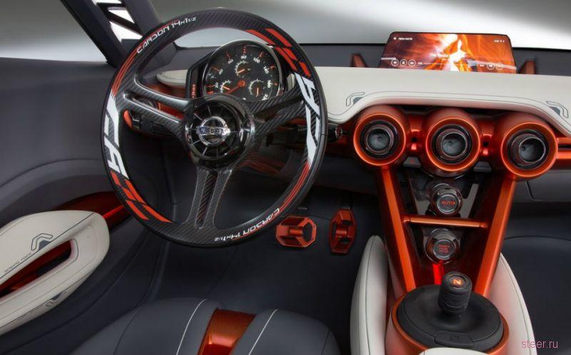 Nissan Gripz : кроссовер или спорткар?