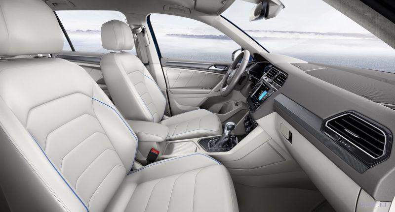 Новый Volkswagen Tiguan представлен официально
