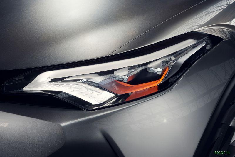 Toyota показала предсерийный концепт кроссовера C-HR