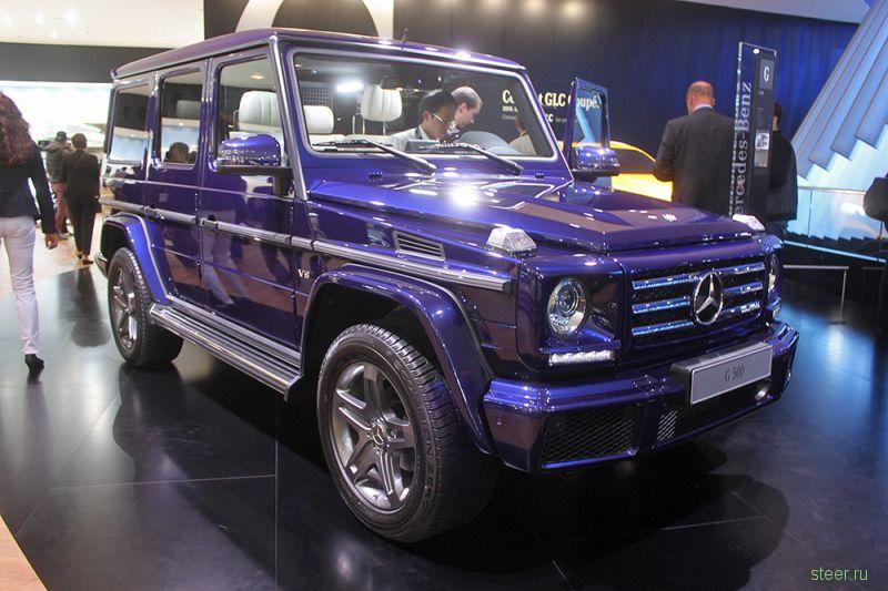 Mercedes показал обновленный G-класс