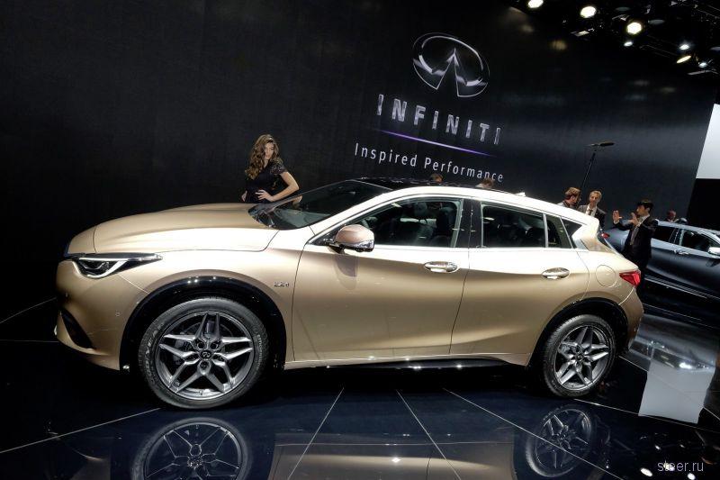 Infiniti показала хэтчбек Q30 на платформе от Mercedes
