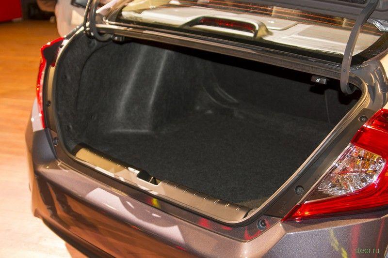 Honda официально представила Civic десятого поколения