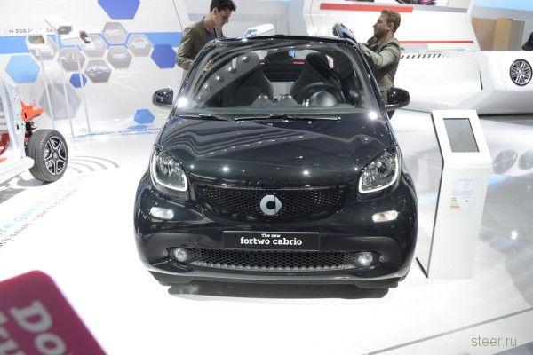 Представлен новый кабриолет Smart ForTwo