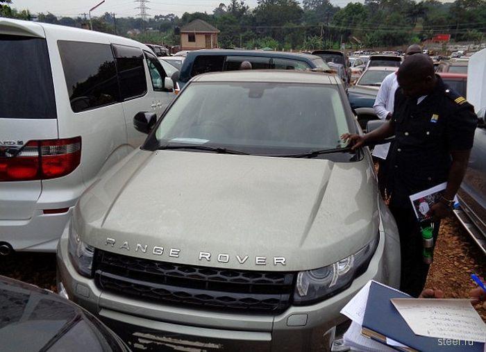 В Уганде нашли угнанные в Великобритании машины на сумму более 1,5 миллионов долларов