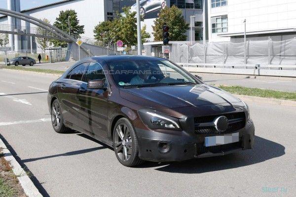 Первые фото нового Mercedes-Benz CLA