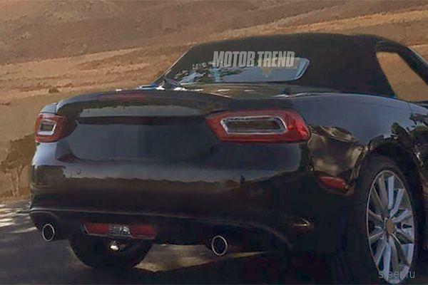 Фотошпионы поймали родстер Fiat 124 Spider на базе Mazda MX-5