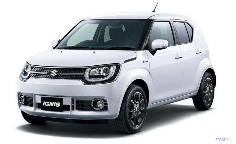 Первые официальные фото возрожденного Suzuki Ignis