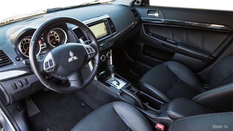 Представлен обновленный седан Mitsubishi Lancer