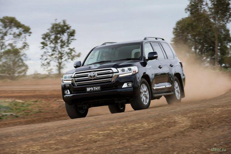 Объявлены рублевые цены на новый Toyota Land Cruiser 200