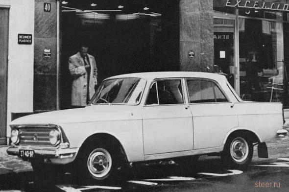 Какие советские машины пользовались спросом за рубежом