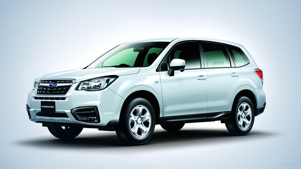Subaru представила обновленный кроссовер Forester