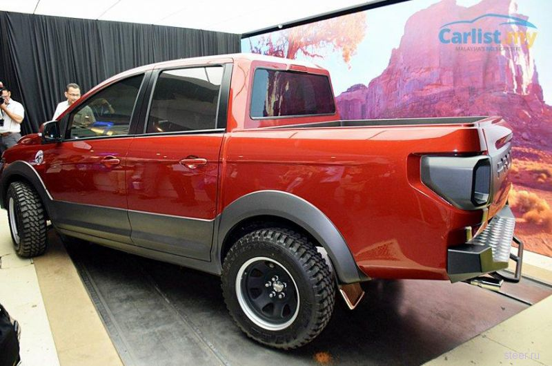 Proton сделал пикап в стиле Ford F-150 Raptor