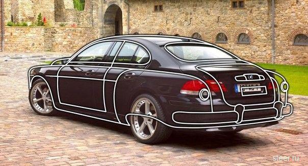 Правительственный ЗИМ на базе BMW 7