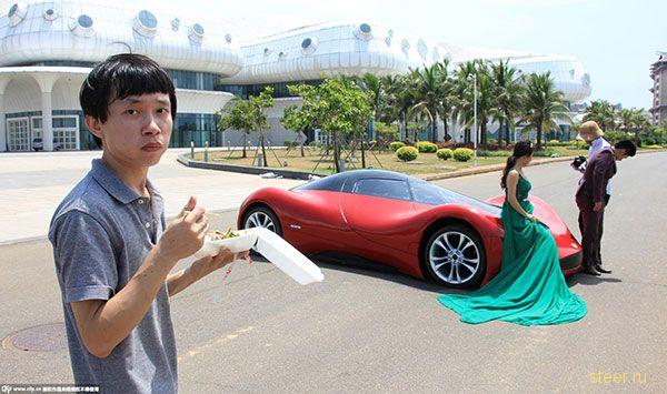 Cамодельный автомобиль от 27-летнего китайского инженера