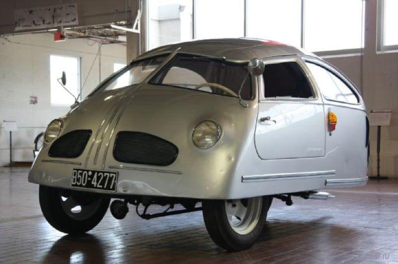 Hoffman 1951 : Самый худший автомобиль за всю историю