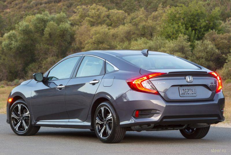 Honda опубликовала точные данные десятого поколения Civic