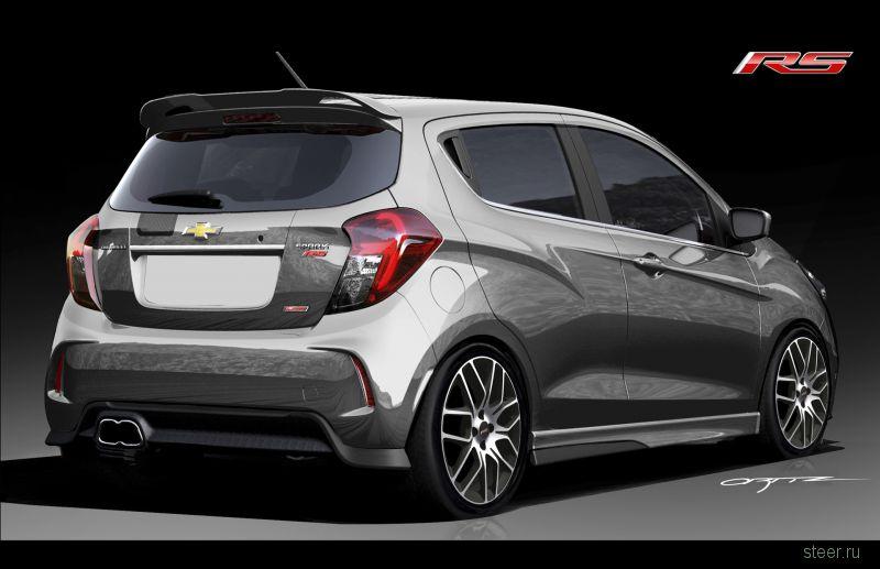 Из Chevrolet Spark сделают спорткар