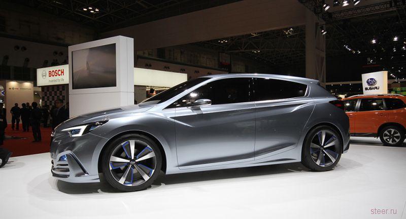 Subaru Impreza нового поколения раскрыли на прототипе
