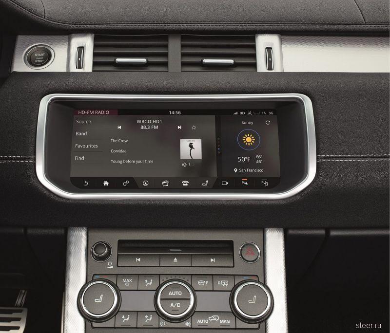 Официальные фото открытой версии Range Rover Evoque