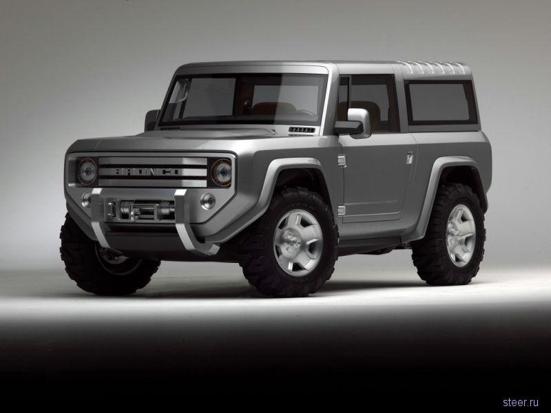 Ford решил возродить культовый внедорожник Bronco.