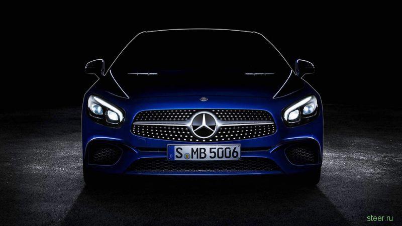 Представлен дизайн обновленного SL Mercedes-Benz SL
