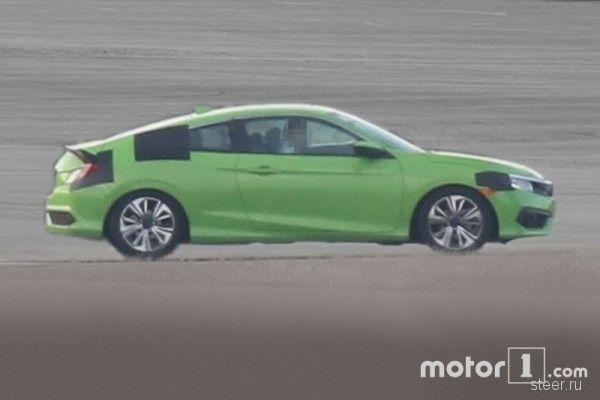 Первые фото нового Honda Civic Coupe