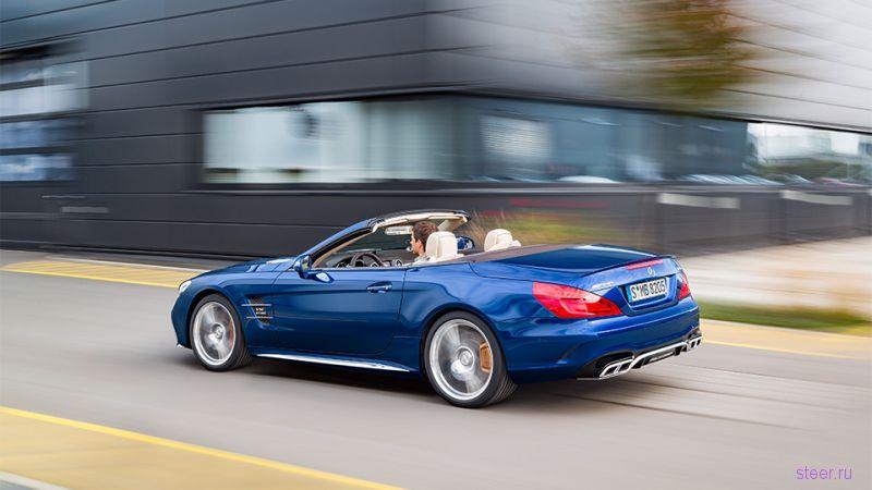 Мерсеедес показал обновленный родстер Mercedes-Benz SL