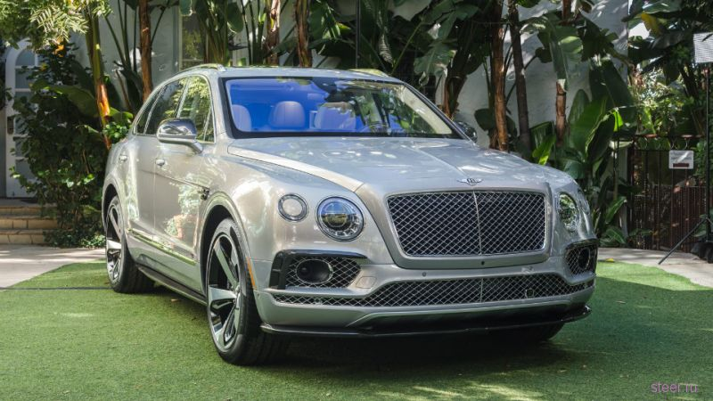 Bentley Bentayga First Edition : первая спецверсия