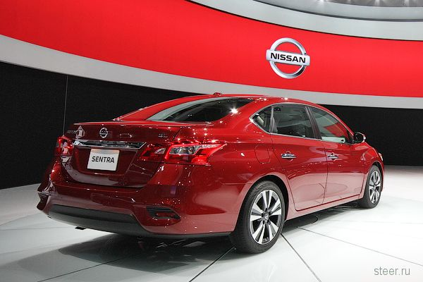 Nissan представил обновленный седан Sentra