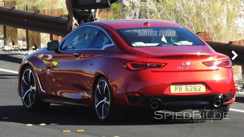 Первые фото нового поколения купе Infiniti Q60