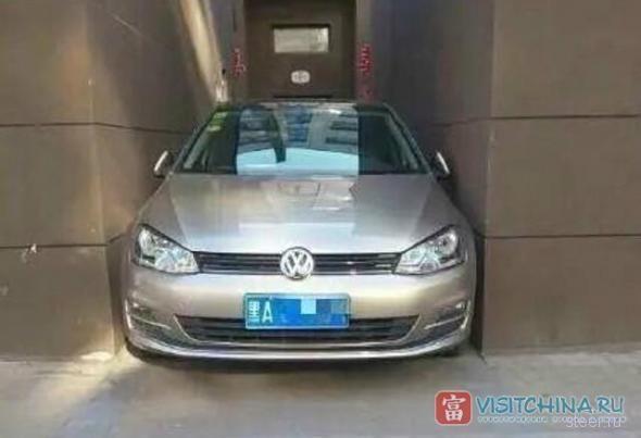 Китайское решение проблем с парковкой