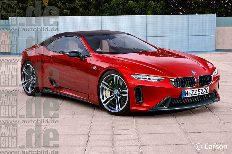 BMW Z5: первая информация о совместном проекте BMW и Toyota