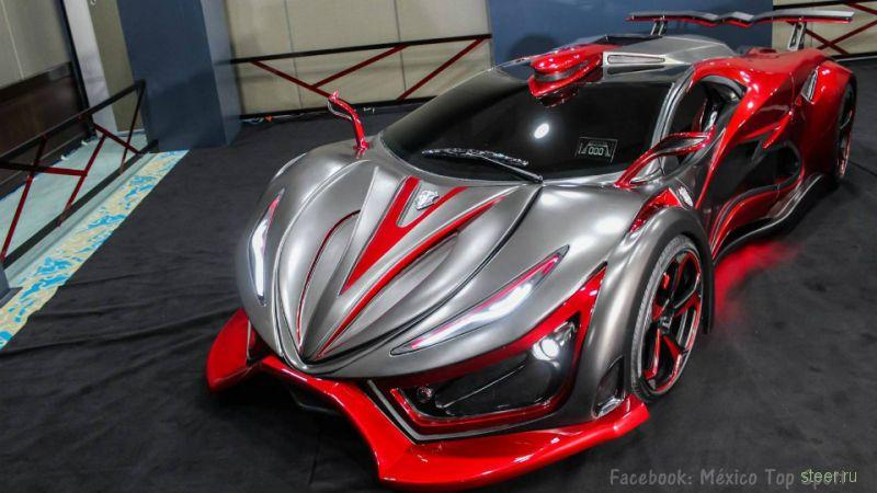 Мексиканский суперкар The Inferno будет разгоняться до 395 км/ч