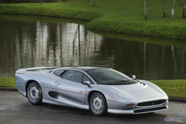 Изысканный Jaguar XJ220 1993 года продают за 325 000 фунтов стерлингов