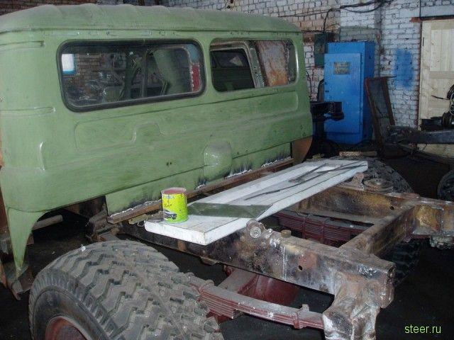 Самодельный Хаммер на базе Газ-66