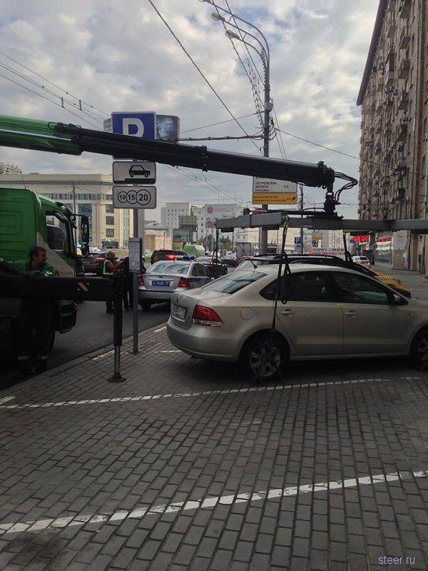 Как выглядит Парковка-ловушка в Москве