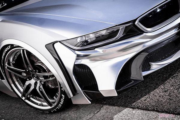 Японцы сделали хромированный BMW i8