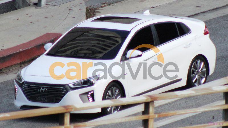 Первые фото экомодели Hyundai Ioniq