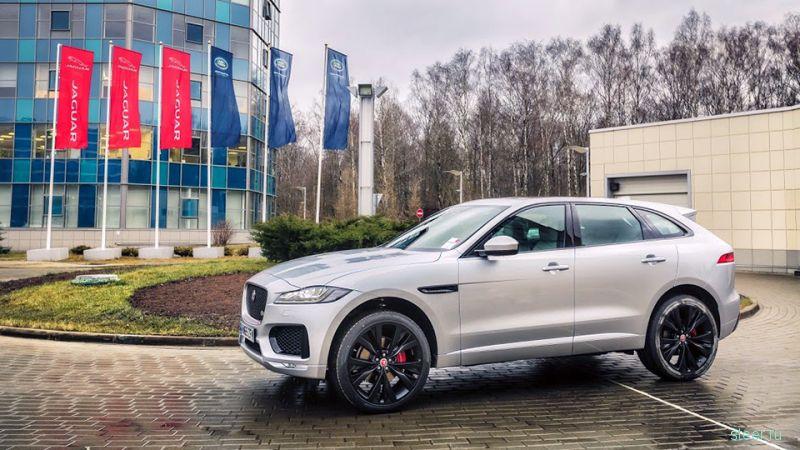 Jaguar испытает новый кроссовер F-Pace в России