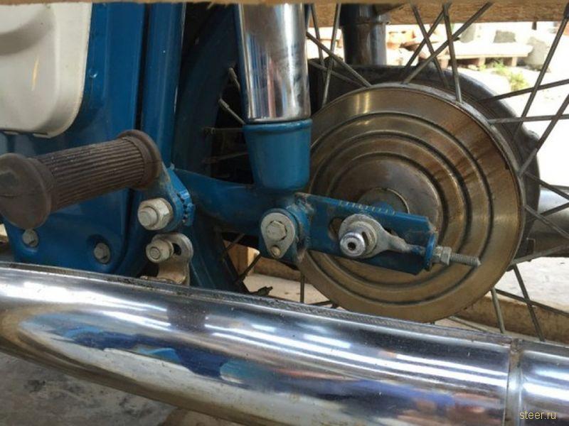 Мотоцикл Иж Юпитер-3 1976 года 38 лет простоял в заводской упаковке