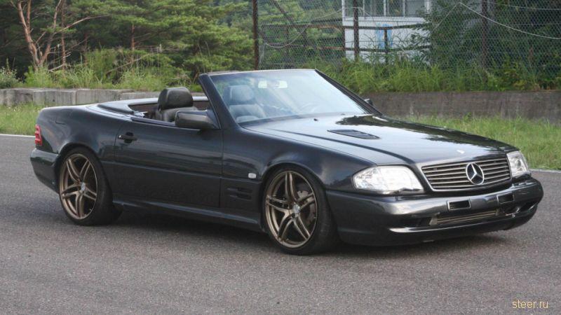 Тюнинг по-японски: Mercedes-Benz SL мотором от Toyota Supra